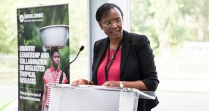 Dr Winnie Mpanju-Shumbusho  World AIDS Day 2015: Nigeria urged to improve health sector Dr Winnie Mpanju Shumbusho