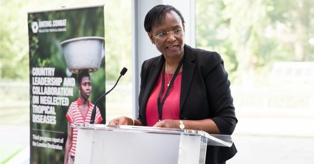 Dr Winnie Mpanju-Shumbusho, WHO Assistant Director General for HIV/AIDS, Tuberculosis, Malaria and Neglected Tropical Diseases. Photo credit: media.globalcitizen.org  World AIDS Day 2015: Nigeria urged to improve health sector Dr Winnie Mpanju Shumbusho