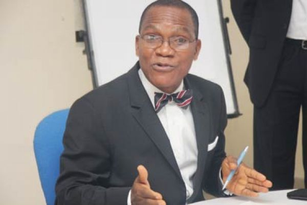 Dr. Abraham Nwankwo, head of the DMO. Photo credit: newsexpressngr.com  Nigeria's debt management model enthuses Africa Dr