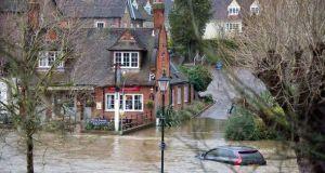Guildford Surrey  Misery as torrential rain causes devastating floods in Britain flood1 450461