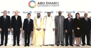 President Muhammadu Buhari  Climate solutions explored at World Future Energy Summit, ADSW 2016 1abu