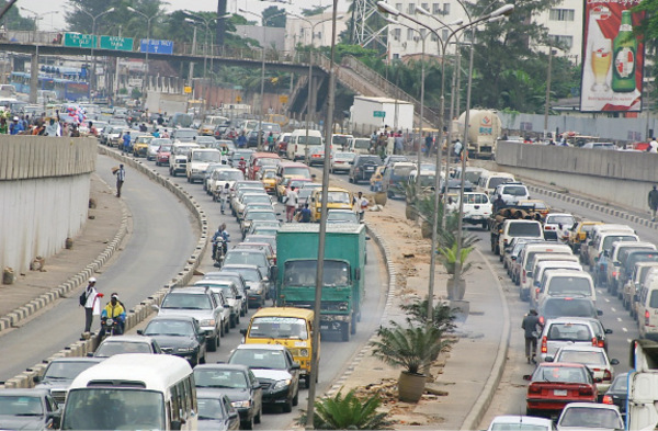 traffic  Transforming African cities towards low emission future Lagos Traffic
