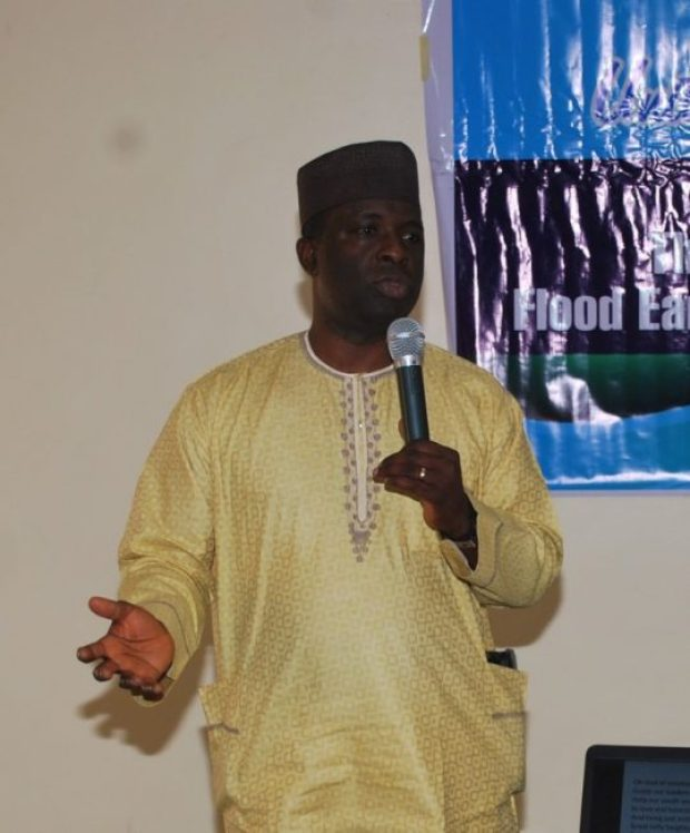 UNICEF Nigeria's Monitoring & Evaluation Officer (Emergency Preparedness for Response), Olusoji Adeniyi
