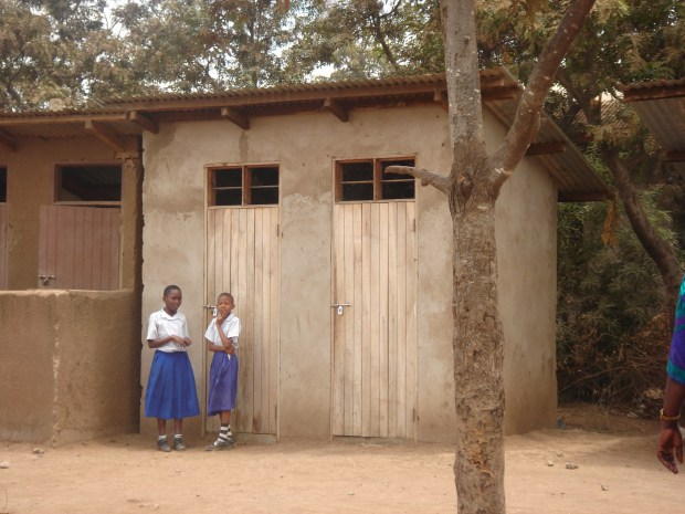 A school toilet for girls