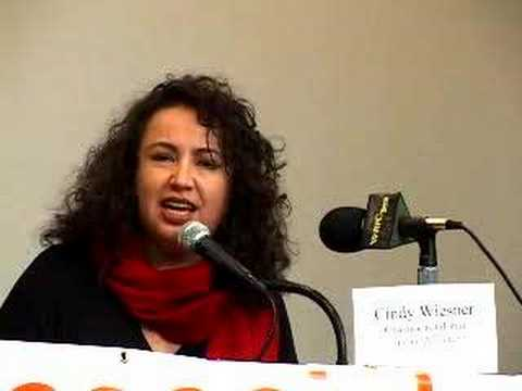 Cindy Wiesner of the Grassroots Global Justice Alliance
