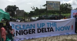 death  Activists: Oil has brought destruction, death to Nigeria IMG 0358