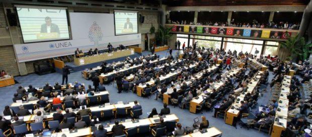 The UN Environment Assembly convening in Nairobi, Kenya