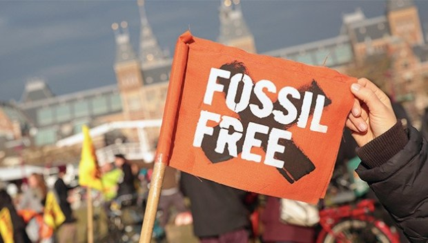 Fossil fuel divestment campaign