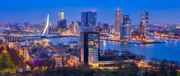 Rotterdam in the Netherlands emitted 29.8 tons of carbon dioxide-equivalent per capita in 2005  Cities commit to combating emissions Rotterdamdeluxe1 e1465313146447