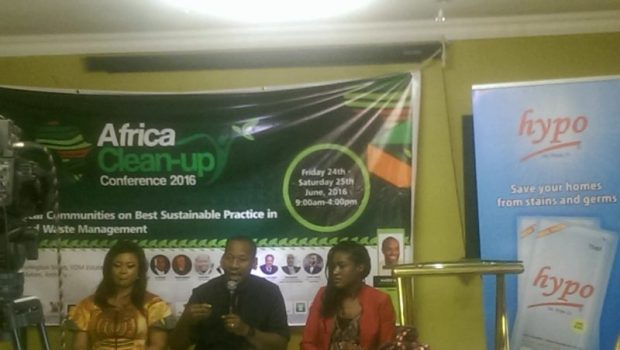 Panel Discussion Session: Left to Right: Lolade from West AfricaENRG; Mazi from RecyclePoints and Ugochi from TVC News