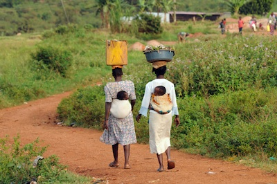 According to gender roles, women are responsible for domestic chores, including food production, cooking, cleaning, caring for the children, and fetching water. Photo credit: projecthavehope.org  Uganda supports gender-responsive biodiversity conservation Gender