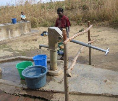 A water hand pump  Kaduna communities get 280 UNICEF hand pumps boreholes