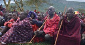 maasaimen  Tanzania intimidates Maasai landgrab protesters maasaimen