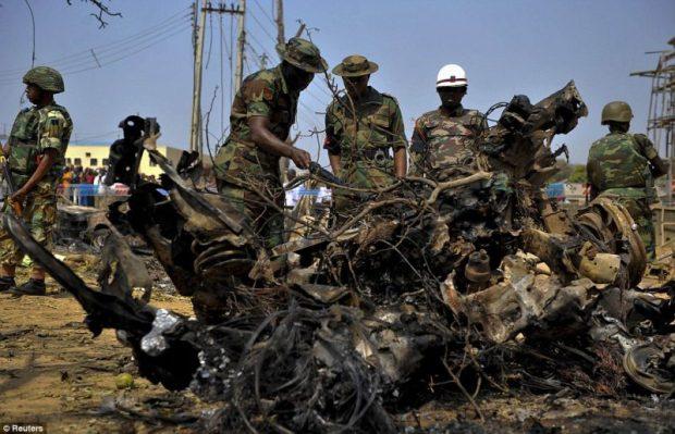 Aftermath of a Boko Haram attack