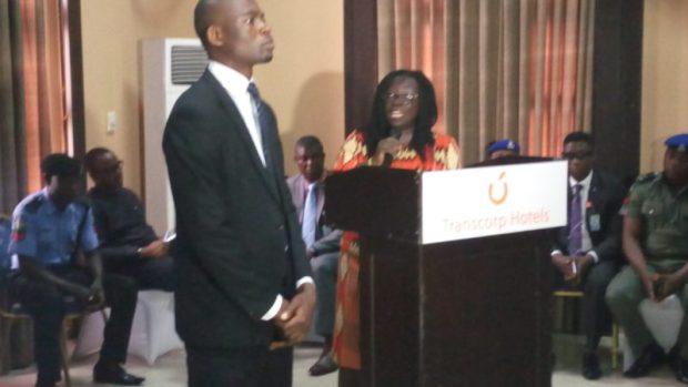 Senior Regional Technical Advisor - United Nations Development Programme/UN-REDD+, Elsie Attafuah, at the opening ceremony in Calabar  Images: Abuja, Calabar REDD+ validation meetings IMG 20160823 105541 e1472433671592