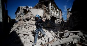 earthquake  Black Wednesday as quakes hit Italy, Myanmar Italy1 e1472097530582