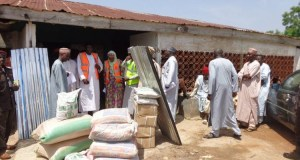 Relief-Materials  Flood victims receive donations from lawmaker Relief Materials