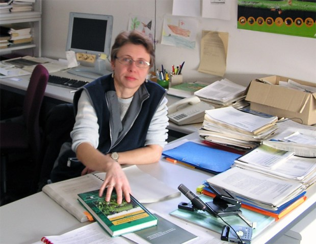 Dr. Angelika Hilbeck, President of the European Network of Scientists for Social and Environmental Responsibility (ENSSER)