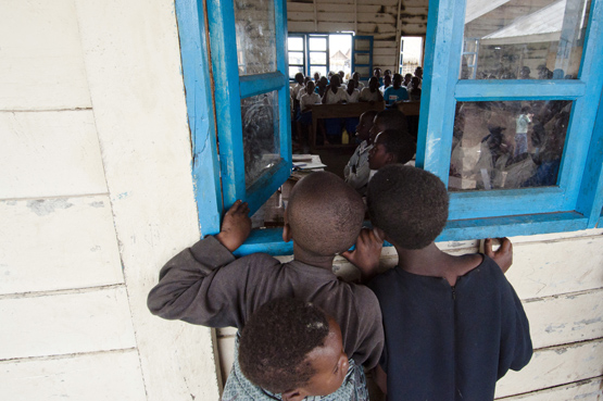 The programme aims at providing education for millions of children out of school
