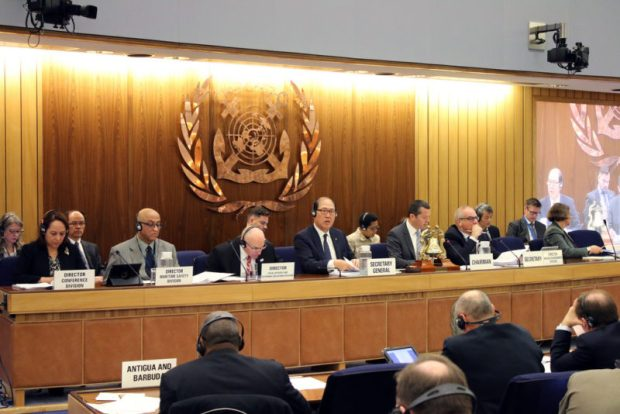The IMO, during the 70th session of its Marine Environment Protection Committee (MEPC) meeting in London, agreed to implement a global sulphur cap of 0.50% m/m (mass/mass) in 2020.