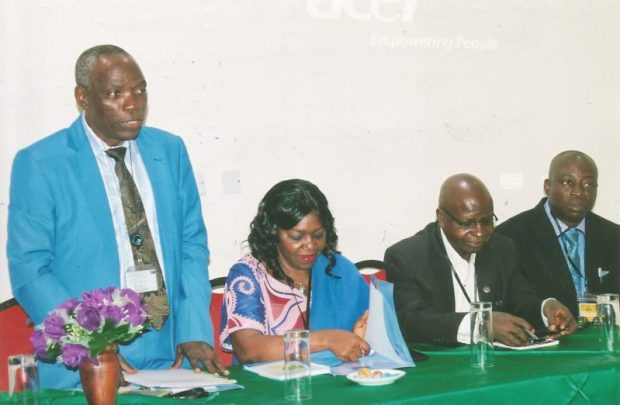 L-R: Philip Bankole, Director, Department of Forestry, Federal Ministry of Environment; Dr Alice Ekwu, Cross River State Commissioner of Climate Change & Forestry; Prof. Augustine Ogogo, Dean, Faculty of Agriculture, University of Calabar; and Takon Daniel Etta, Special Adviser to the Governor of Cross River State on Climate Change