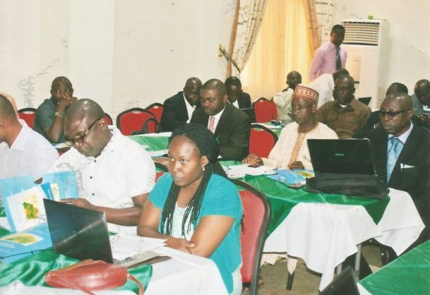 A cross-section of participants at the workshop