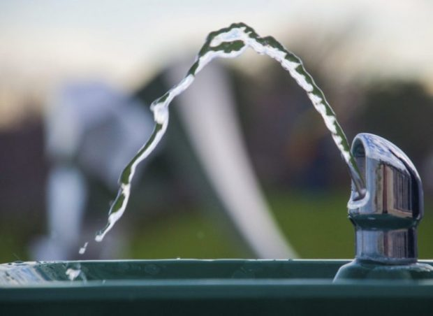 A water fountain in Chicago. Photo credit: iStockphoto