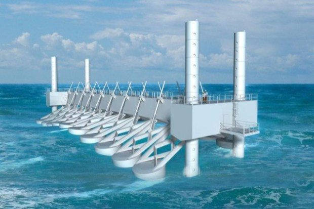 Generating energy from waves  First wave-produced power in US goes online waveenergy