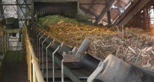 A sugar production plant