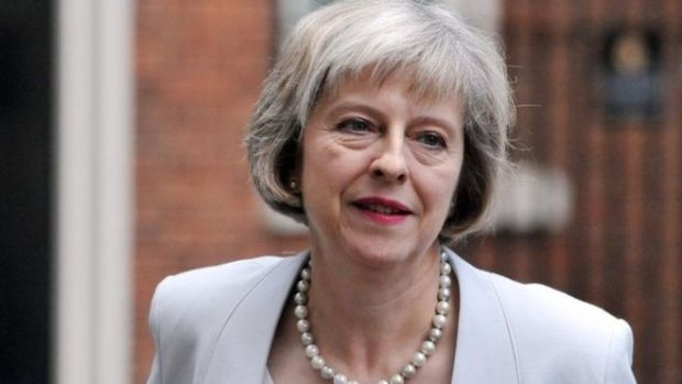 Theresa May, Prime Minister of the United Kingdom (UK)