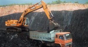 Mining coal