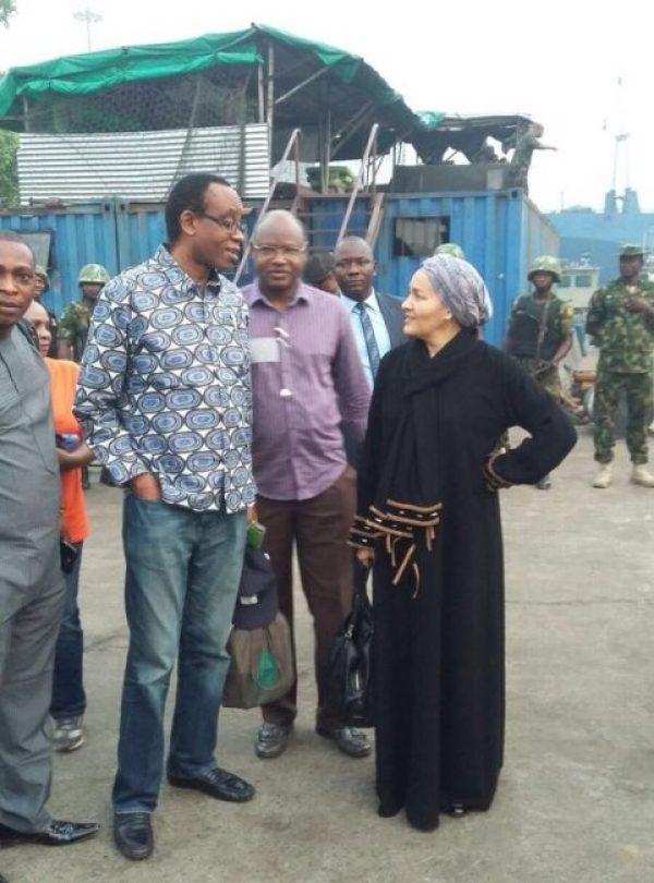 Amina Mohammed:Minister of Environment of Nigeria