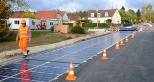 Solar Road  Solar-panel roads to be built on four continents Solar Road