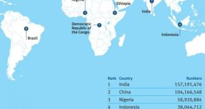Water Aid  Infographic: Nigeria world's third highest for open defecation Water