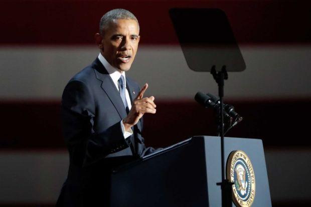 Barack Obama  Trend towards clean energy irreversible, says Obama Obama
