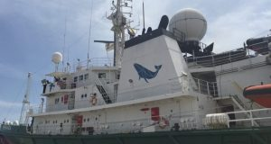 My Esperanza  Greenpeace West Africa expedition raises awareness on state of fisheries esperanza e1487954973790