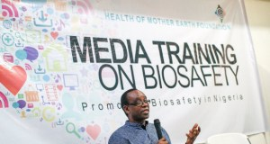 Nnimmo-Biosafety  GMOs: When HOMEF, media debated biosafety, agric biotech Nnimmo Biosafety