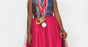 Serena-Teluwo  Sensational Serena Teluwor wins U-10 tennis Circuit Cup Serena Teluwo