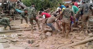 Colombia-landslide
