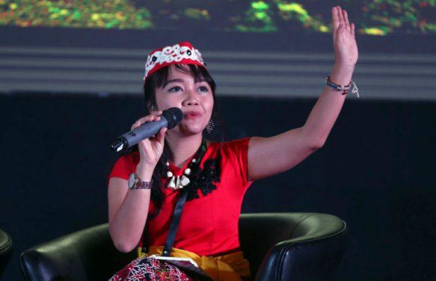 Emmanuela Shinta-GLF-Peatlands  Indonesia: Communities form part of discussions to address peatland concerns Emmanuella e1495204203497