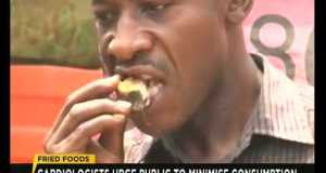 TV Report: Danger of consuming too much fried food tv report dangers of consuming t