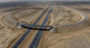 China Desert Highway