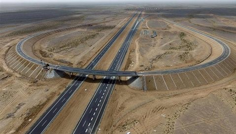 China_Desert_Highway