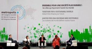 Mayors-Montréal  Montréal Declaration: 140 mayors express commitment to Paris goals Mayors