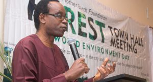 Nnimmo Bassey- Forest Town Hall