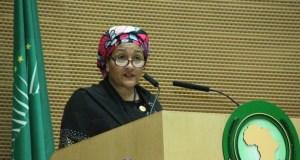 Amina Mohammed  Amina Mohammed clamours stronger AU-UN partnership to benefit Africa's youth Amina Mohammed