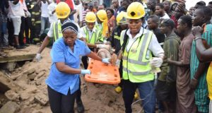 Lagos building collapse  Why Meiran building collapsed, by Lagos government Collapse e1500828882930