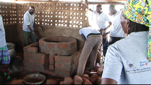 IDP ICEED stove