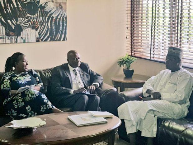UNDP Nigeria  Images: Environment Ministry, UNDP explore areas of cooperation UNDP1 e1499029500766