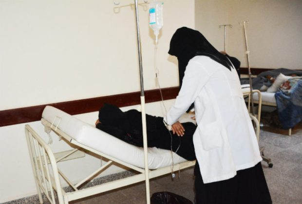 Yemen cholera  Images: How Yemen struggles against cholera Yemen4 e1501189484351